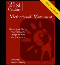 Book Cover Design for '21st Century Motherhood Movement'
