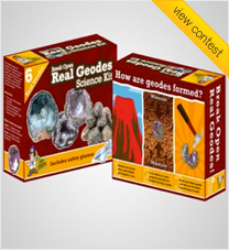 Dr Cool Science - Packaging - Break open real geodes kit!