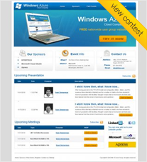 Windows Azure (Cloud Computing) User Group Website