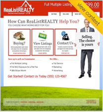 Realist Realty International Ltd. Large Website Design Contest