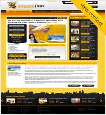 SwarmJam.com website facelift